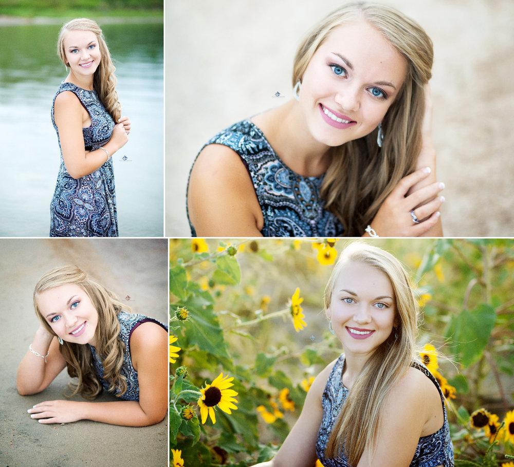 Beach Senior Images by Katie Swatek Photography | Sunflower Senior Images by Katie Swatek Photography