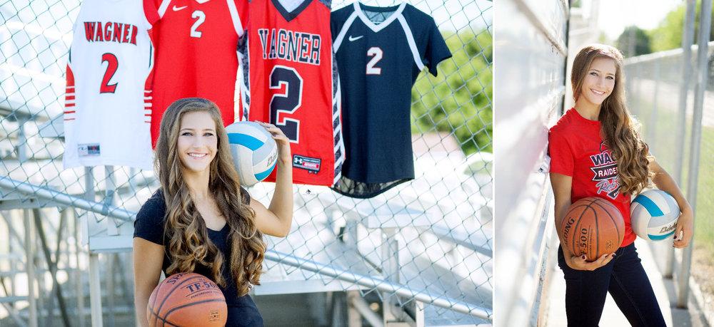 Sports Senior Images by Katie Swatek Photography | Outdoor Sport Pictures by Katie Swatek Photography