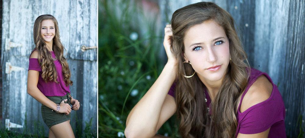 Country Senior Images by Katie Swatek Photography | Barnwood Senior Images by Katie Swatek Photography