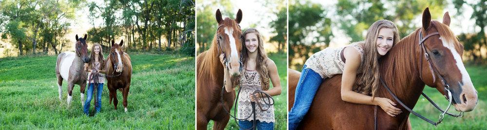 Horse Senior Images by Katie Swatek Photography | Country Senior Images by Katie Swatek Photography