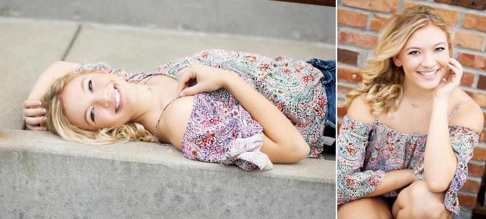 Urban Senior Images by Katie Swatek Photography | South Dakota Senior Pictures by Katie Swatek Photography