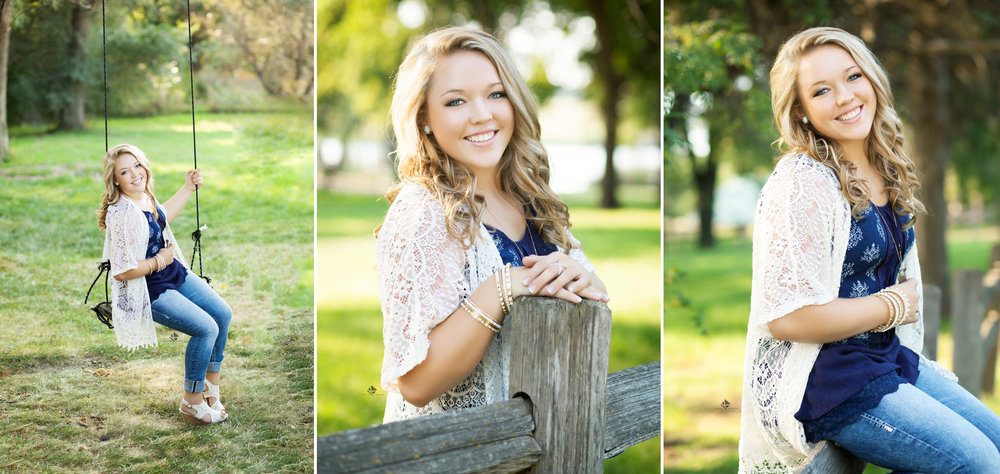 Country Senior Pictures in Wagner SD by Katie Swatek Photography | Swing Senior Pictures by Katie Swatek Photography