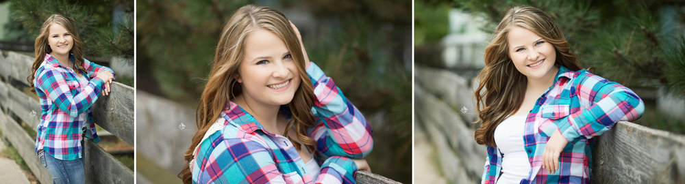 SD Senior Pictures | Country Senior Pictures by Katie Swatek Photography | Flannel Shirt Senior Pictures by Katie Swatek Photography