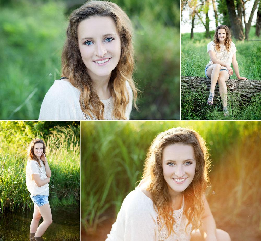 South Dakota Senior Picture Photographer | Country Senior Pictures by Katie Swatek Photography | Creek Senior Pictures by Katie Swatek Photography