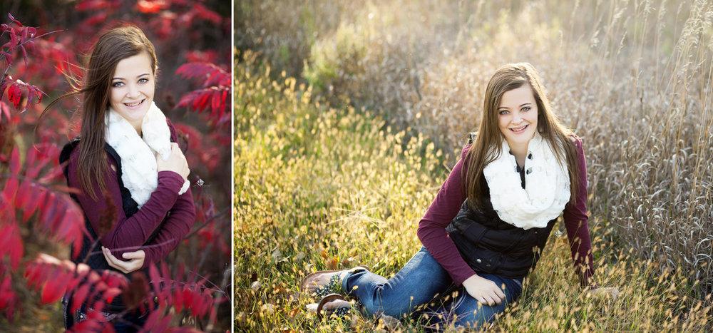 South Dakota Senior Picture Photographer | Fall Senior Pictures by Katie Swatek Photography | Sumac Senior Pictures by Katie Swatek Photography