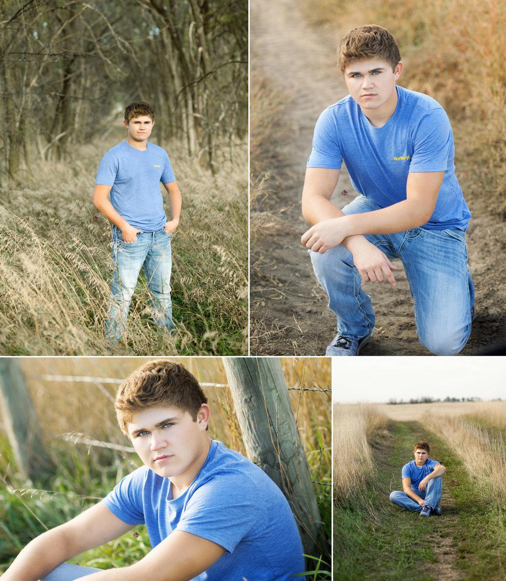 South Dakota Senior Pictures | Guy Senior Pictures by Katie Swatek Photography | Fall Senior Pictures by Katie Swatek Photography
