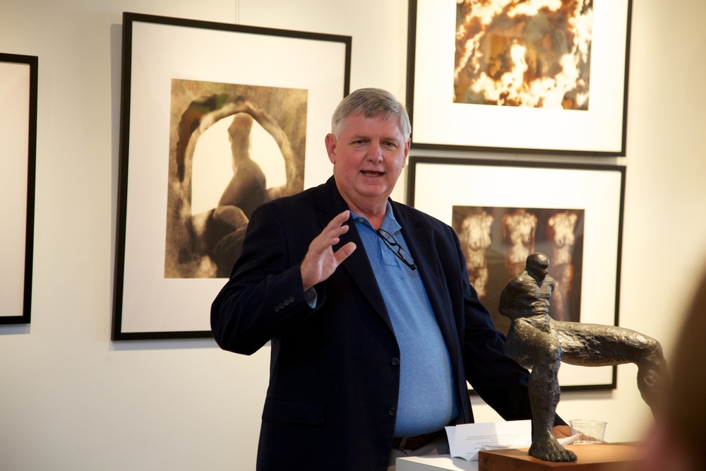 Gallery Director, Perry Magee
