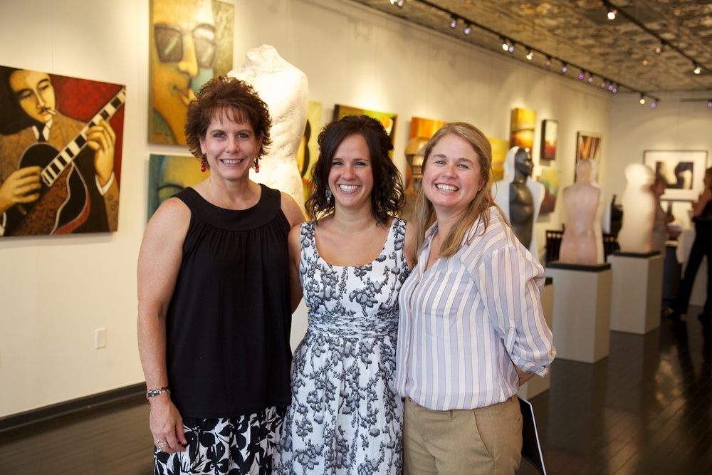 Kim Williams, Brittanie Staqqs, and Sydney Godfrey of PBI Commercial Interiors