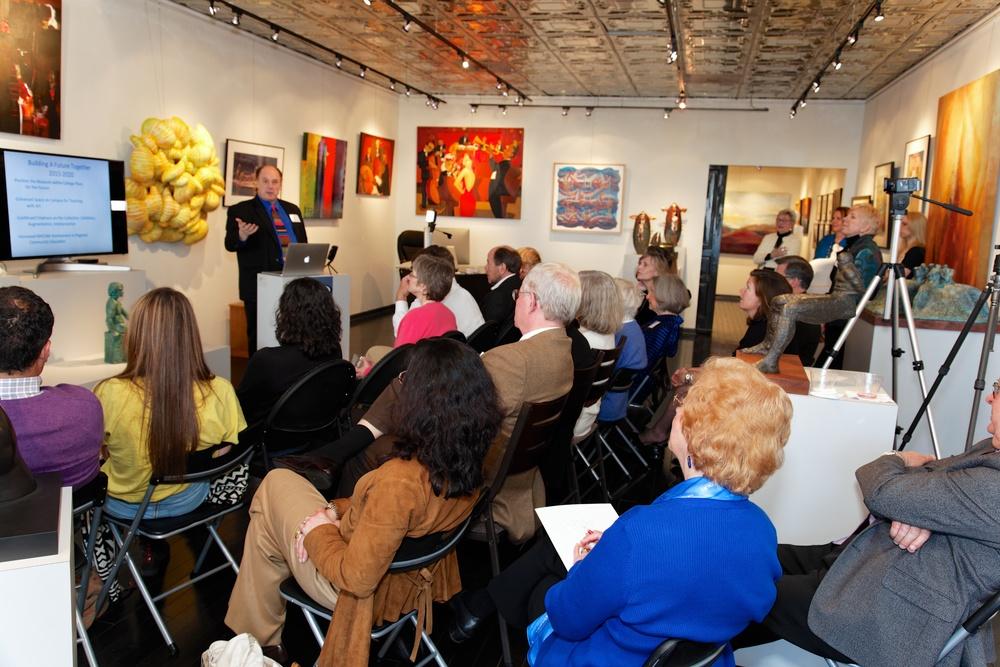 Dr. John Stromberg at Artetude Gallery