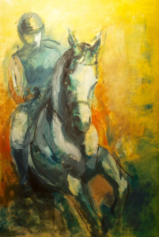 Blue Rider  34 x 22