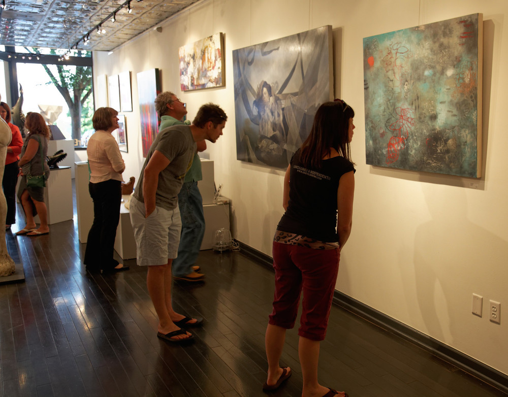 June 2014 Art Walk