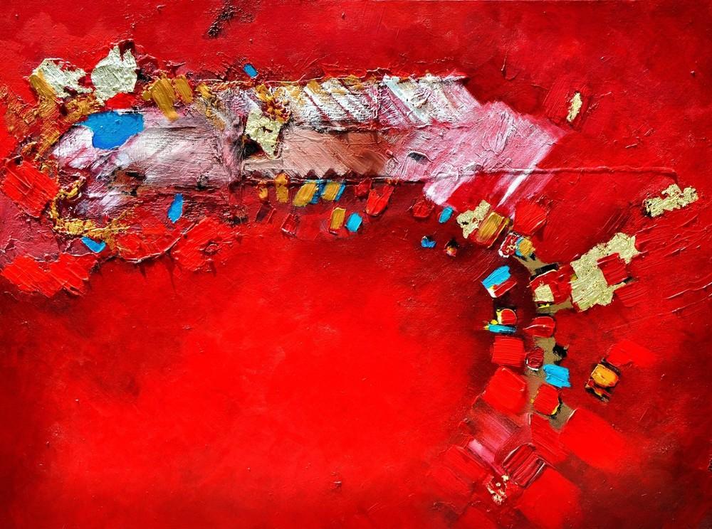 Faye Earnest, Strata 1, 2012  30 x 40  $3,900