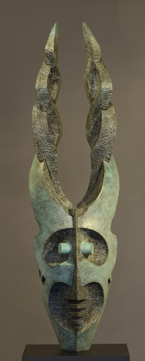"Spirit #14 by Leonid Siveriver, bronze, 37""h x 12"" x 12""w, $26,000"