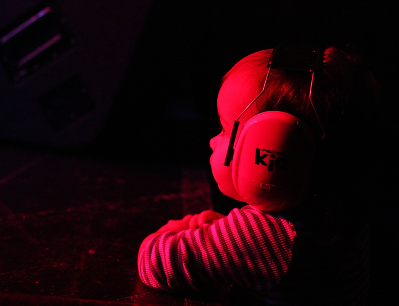 crumbley :     Oh, you know, just a baby watching the Everything Independent showcase at Arlenes Grocery Wednesday October 19th.     G caught in Action at my recent CMJ showcase, stunning photo!