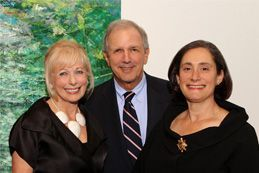 Susan Swartz, Charlie Gibson, NMWA  Director  Susan Fisher Sterling