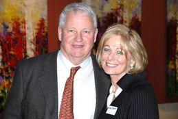 Susan Swartz and Springville Art Museum's Director, Vern Swanson