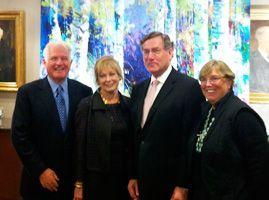 Jim & Susan Swartz, Scott & Jesselie Anderson
