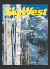 SkyWest Magazine  February 2008