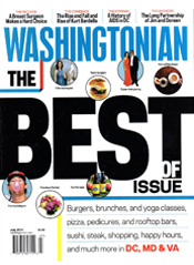 The Washingtonian  July 2011