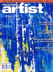 Professional Artist Magazine November 2011