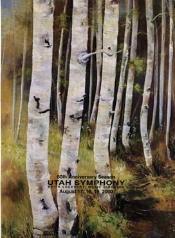 Utah Sympony Program Cover August 2000