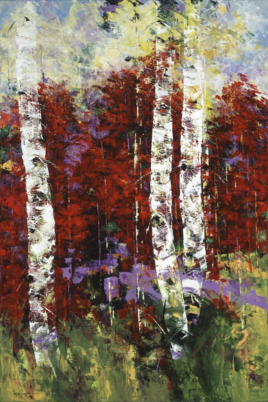 Autumn's Bounty II 48 x 72