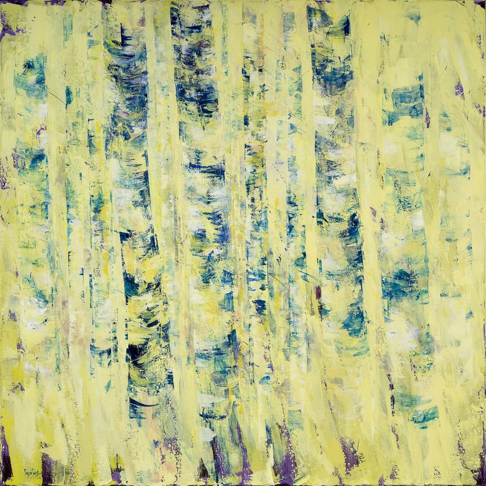 Azure Rhythm II 60 x 60