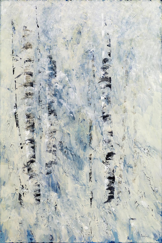 Winter's Hush II 48 x 72