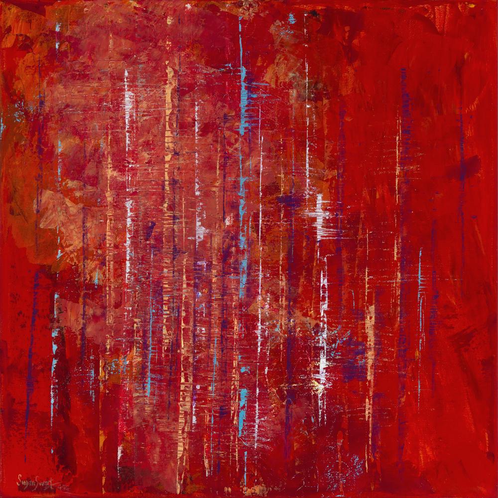 Crimson Fog 20 x 20