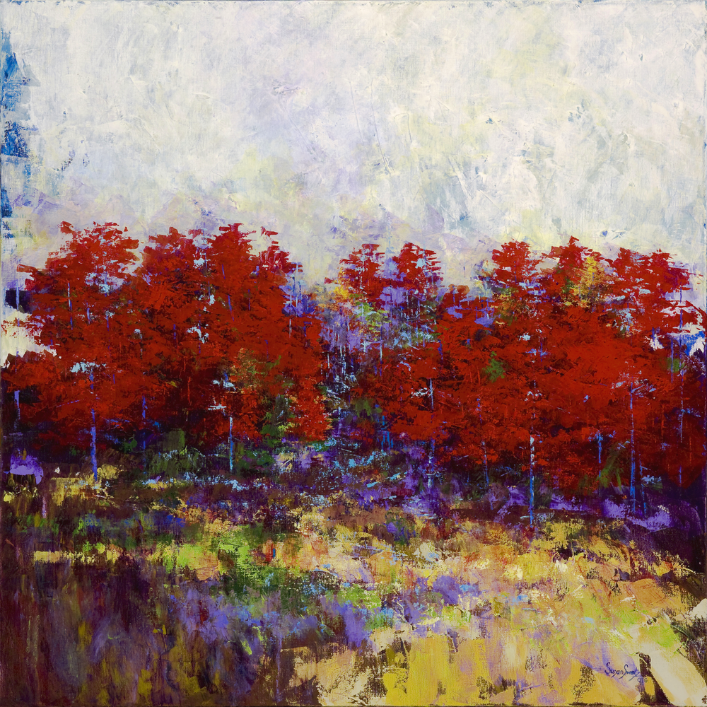 Fall Morning 48 x 48