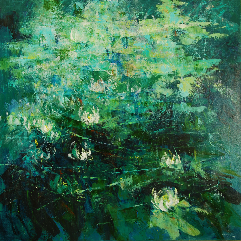 Lingering Light 48 x 48