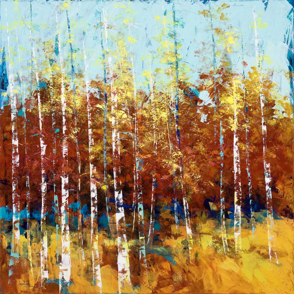 Autumn Presence 48 x48