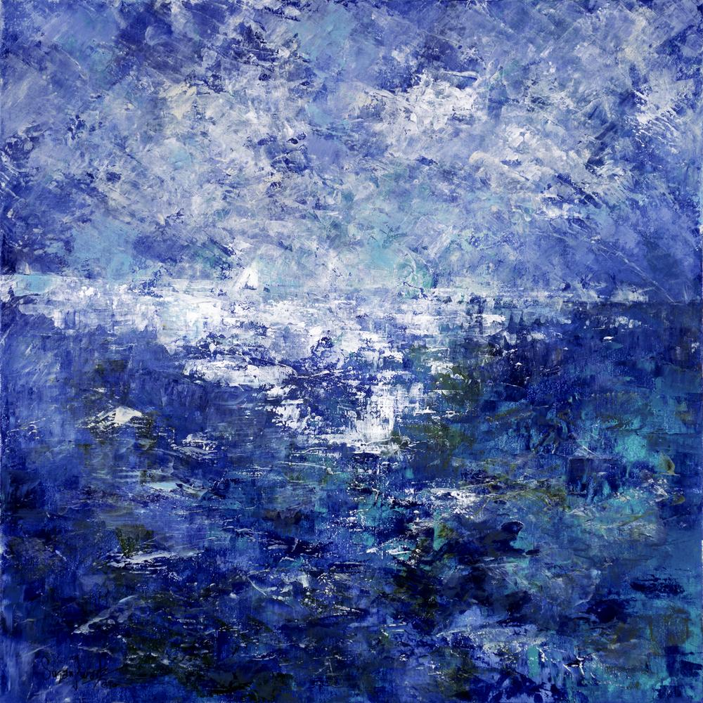 Turquoise Serenity 30 x 30
