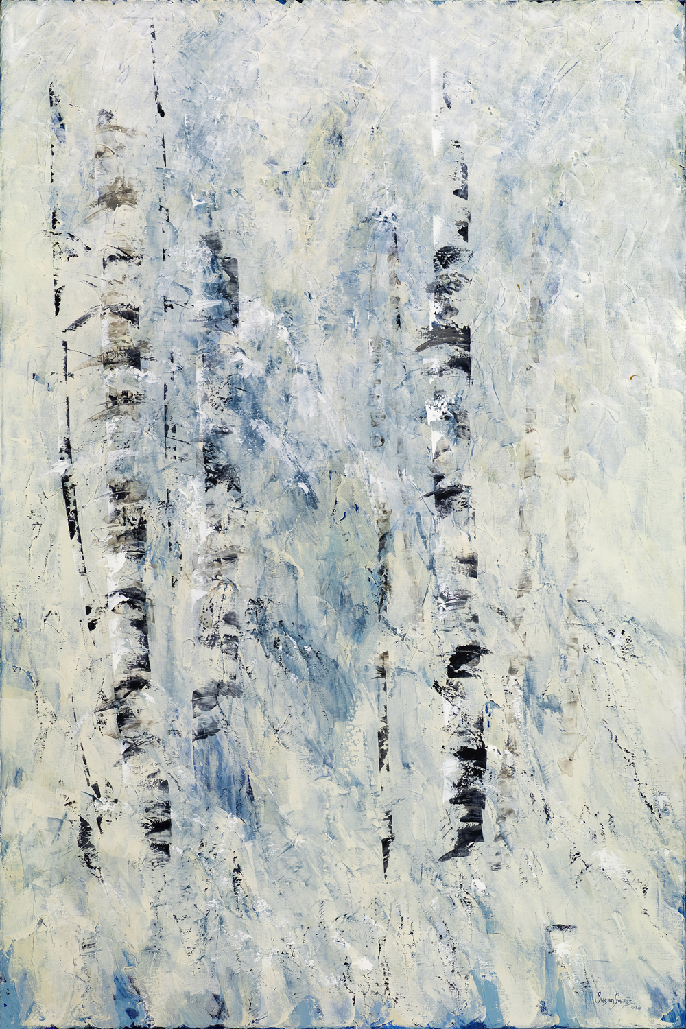 Winter's Hush II 48 x 72
