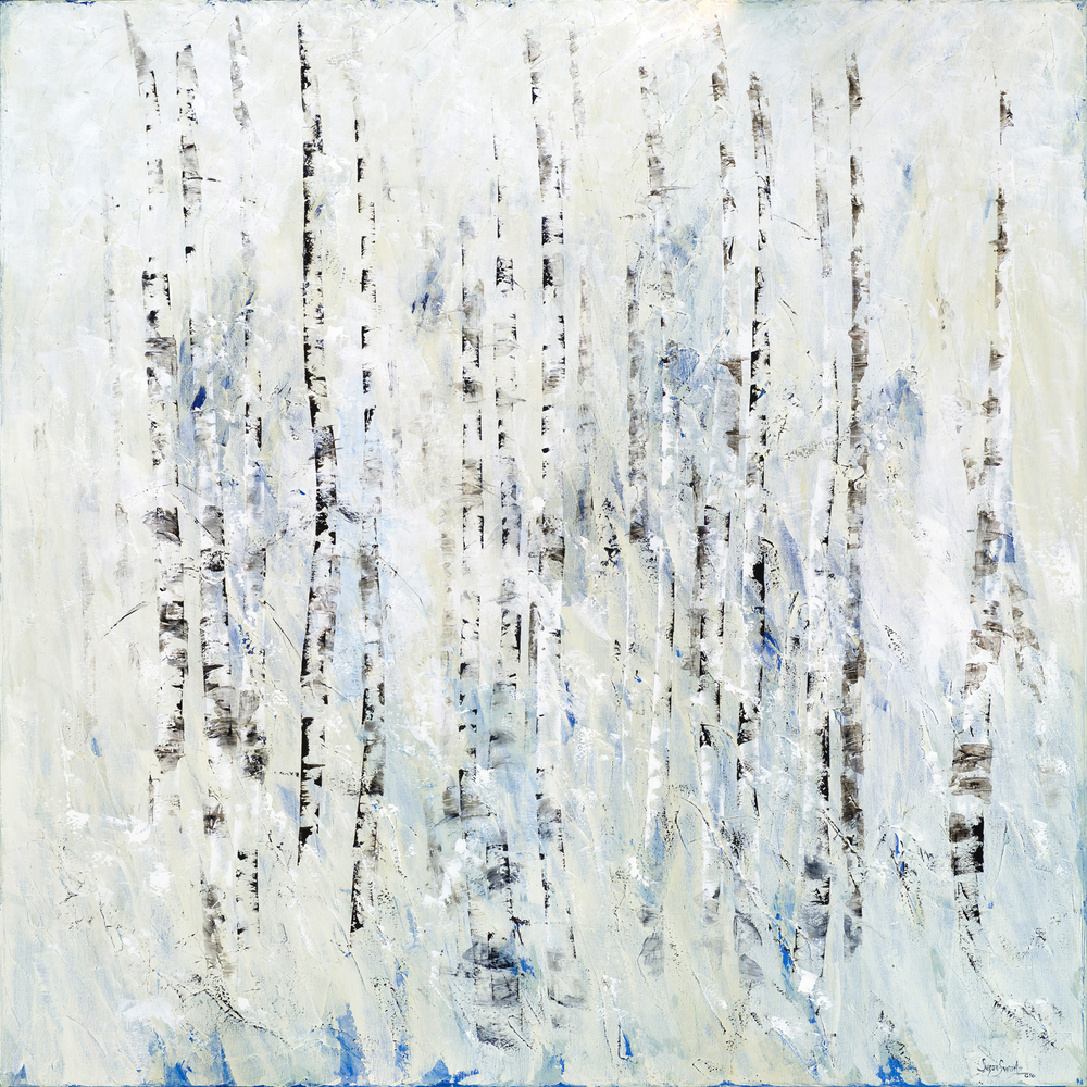 Winter's Hush I 60 x 60