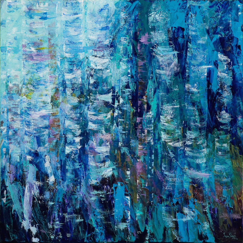 Moonlit Moment 60 x 60