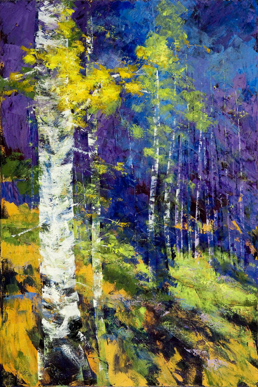 Amethyst Grove 48 x 72