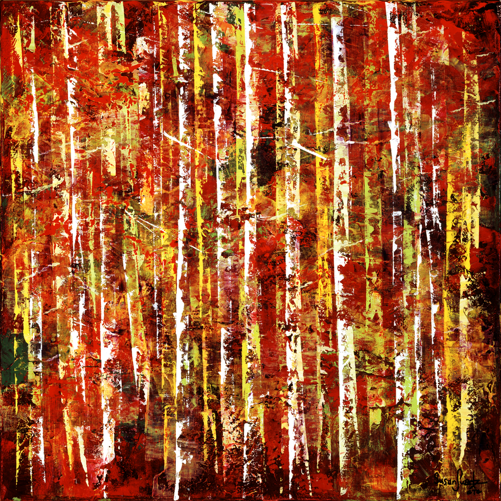 Red Enchantment 20 x 20
