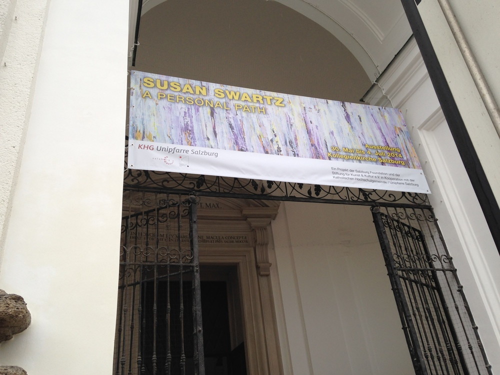 Kollegienkirche banner