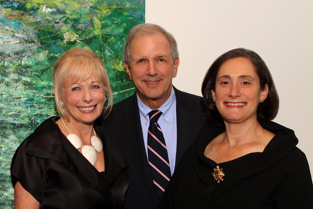 Susan Swartz, Charlie Gibson, Susan Sterling 17 June 11.jpg