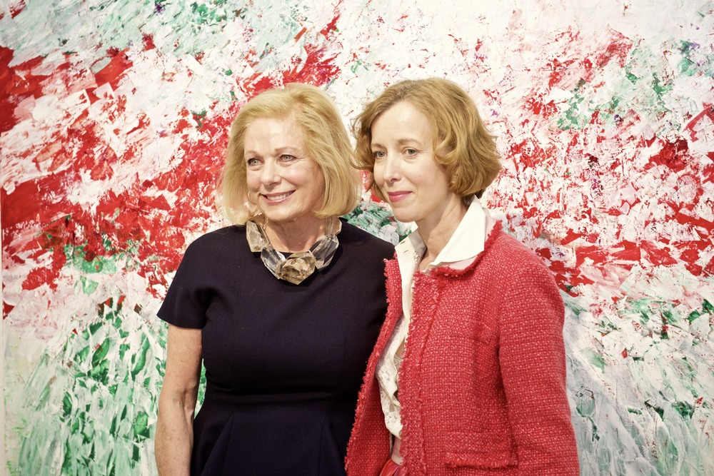 Susan Swartz and Dr. Beate Reifenscheid, the Director of the Ludwig Museum