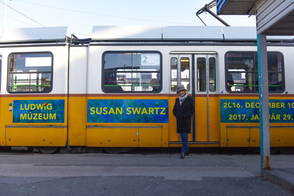 Susan Swartz in Budapest
