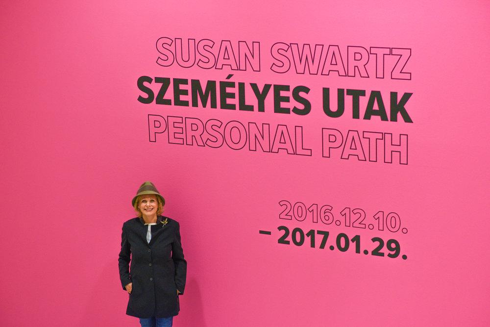 Budapest, Künstlerin Susan Swartz