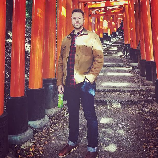 The rare moment when you escape the herd of tourists around #fushimiinaritaisha⛩