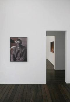 Vue de l'exposition à la galerie Meessen De Clercq, 2009
