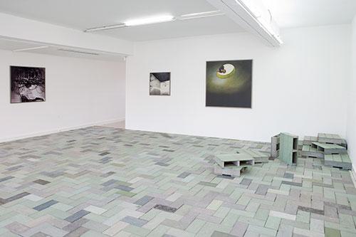 """Vue de l'exposition """"L'institut des Archives Sauvage"""" à la Villa Arson (2012)"""