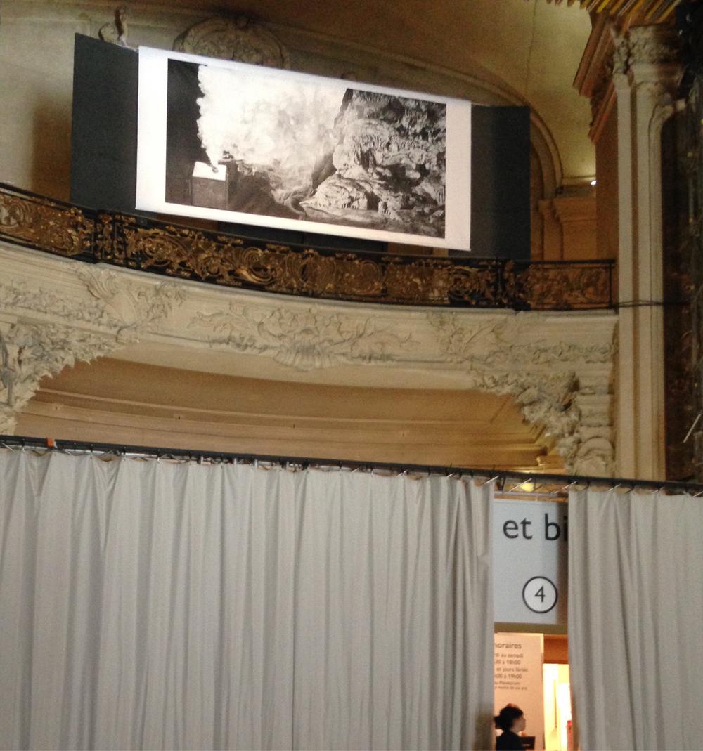 """Vue de l'exposition """"Regards Croisés"""". Palais de la Découverte, Paris (2017)"""