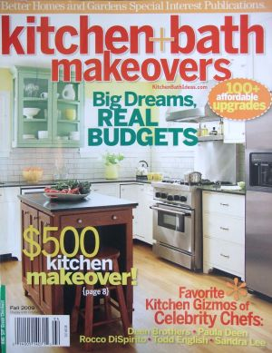 Fall 2009 Kitchen and Bath Makeovers magazine