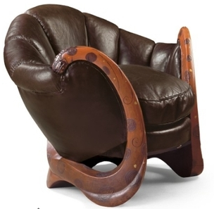 In case you were wondering, this is what a one million dollar chair looks like. { Image via: Curbly.com }