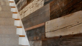 Article: Walls designed with reclaimed wood